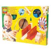 Набор для работ по дереву - УМЕЛЫЕ РУКИ (деревянные заготовки, инструменты) от Ses (Ses creative)