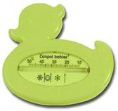 Термометр для воды Утка зеленая, Canpol babies, зеленая утка от Canpol babies