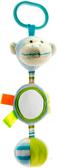 Погремушка с зеркальцем и колокольчиком (голубая), 23 см, Devik play joy, голуб. от DEVIK play joy