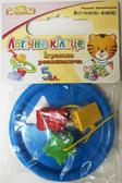 Логическое кольцо синее - развивающая игрушка-сортер, 5 элементов, Тигрес, синий от Тигрес