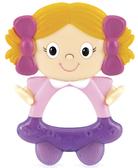 Прорезыватель Веселые приятели Смешинка, Nuby, девочка от NUBY (Нуби)