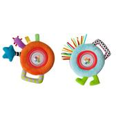Погремушка - ВЕСЁЛЫЕ ШАРИКИ (в ассорт. оранжевый и голубой) от Taf Toys (Таф тойс)