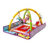 Развивающий коврик с дугами - КУКИ И ДРУЗЬЯ (90х90 см) от Taf Toys (Таф тойс)