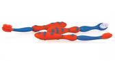 Набор зубных щеток Nuby (две для десен, одна для зубов) 6+, красный, Nuby, красная от NUBY (Нуби)