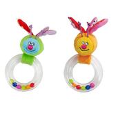 Погремушка - БАБОЧКА (в ассорт. оранжевая и зеленая) от Taf Toys (Таф тойс)