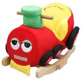 Детское кресло - качалка с музыкой Поезд от ROCK MY BABY
