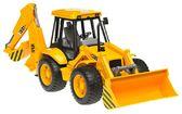 игрушка - дорожный погрузчик с экскаватором JCB 4CX, М1:16