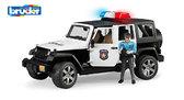 игрушка - джип Полиция Wrangler Unlimited Rubicon + фигурка полицейского, М1:16