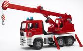 игрушка - пожарный автомобиль с краном (свет и звук), М1:16