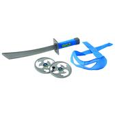 Набор игрушечного оружия серии ЧЕРЕПАШКИ-НИНДЗЯ - боевое снаряжение Леонардо (меч, бандана) от TMNT (Черепашки Ниндзя)