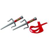 Набор игрушечного оружия серии ЧЕРЕПАШКИ-НИНДЗЯ - боевое снаряжение Рафаэль (2 кинжала-сай, бандана) от TMNT (Черепашки Ниндзя)