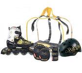 Ролики HOTWHEELS Cruiser, размер 38-41,в наборе с шлемом и защитой
