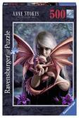 Пазл 'Девушка с драконом' 500 элементов