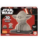 Пазл 3D Скульптура, Йода, 160 элементов от EDUCA