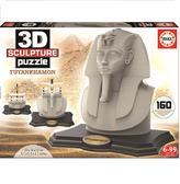 Пазл 3D Скульптура, Тутанхамон, 160 элементов от EDUCA