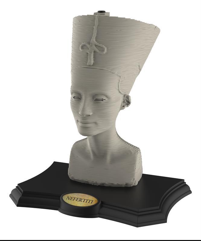 Пазл 3D Скульптура, Нефертити, 190 элементов