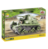 Конструктор COBI 'Легкий танк 7 TP ', 365 деталей