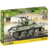 Конструктор COBI 'Танк М-4 Sherman (США) ', 400 деталей