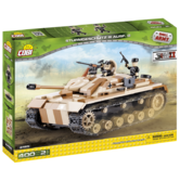 Конструктор COBI 'Самоходно-артилерийская установка StuG III ', 400 деталей