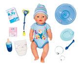 Кукла Baby Born Очаровательный малыш 43 см (с чипом и аксессуарами), Zapf
