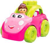 Машинка-конструктор Кабриолет, серия First Builders, Mega Blocks, розовая с девочкой от Mega Bloks (Мега Блокс)