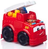 Машинка-конструктор Пожарная, серия First Builders, Mega Blocks, пожарная машина от Mega Bloks (Мега Блокс)