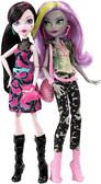 Набор кукол Дракулаура и Моаника Д'Кей, серия Welcome to Monster High, Mattel