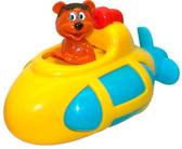 Игрушка для ванной комнаты с заводным механизмом Медведик в субмарине, Navystar, bear submarine от Navystar (Навистар)