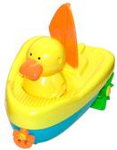 Игрушка для ванной комнаты с заводным механизмом Утка на лодке, Navystar, duck sailing boat от Navystar (Навистар)
