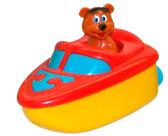 Игрушка для ванной комнаты с заводным механизмом Медведик на катере, Navystar, bear speed boat от Navystar (Навистар)