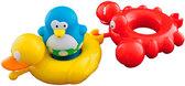 Игрушка для ванны Веселые друзья (пингвин, утка, краб), Water Fun от Water Fun