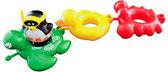 Игрушка для ванны Веселые друзья (пингвин, черепаха, утка, краб), Water Fun от Water Fun