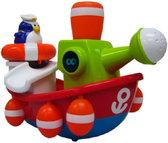 Игрушка для ванны Пингвинчик-моряк на корабле, Water Fun от Water Fun