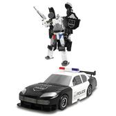 Робот-трансформер - ПОЛИЦИЯ от X-bot