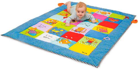 Развивающий большой коврик Весёлые котята (100 х 150 см), Taf Toys