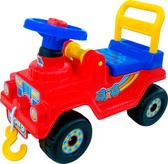 Каталка-автомобиль Джип 4х4 (звук), красный, Полесье, красный от Полесье