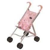 Коляска для куклы Baby Born (светло-розовая складная), Zapf