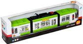 Городской трамвай, зелёный, Big Motors, зелёный