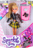 Волшебная модница Келли с аксессуарами (25 см), Sparkle girlz, Funville, блондинка от Sparklegirlz