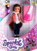 Волшебная модница Стефания с аксессуарами (25 см), Sparkle girlz, Funville, брюнетка от Sparklegirlz