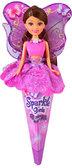 Волшебная фея Натали в лиловом платье с лиловыми крыльями (25 см), Sparkle girlz, Funville, брюнетка в лиловом от Sparklegirlz