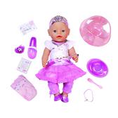 Кукла BABY BORN - ПРИНЦЕССА (43 см, с чипом и аксессуарами)