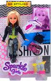 Кукла-модница Ребекка в джинсовом костюме с доп. нарядом (25 см), Sparkle girlz, Funville, блондинка в джинсах от Sparklegirlz