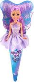 Ледяная фея Эмили в сиреневом платье (25 см), Sparkle girlz, Funville, фиолетовое платье от Sparklegirlz