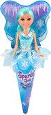 Ледяная фея Эмма в голубом платье (25 см), Sparkle girlz, Funville, чисто голубое платье от Sparklegirlz