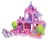 3D пазлы Розовый замок от Melissa & Doug