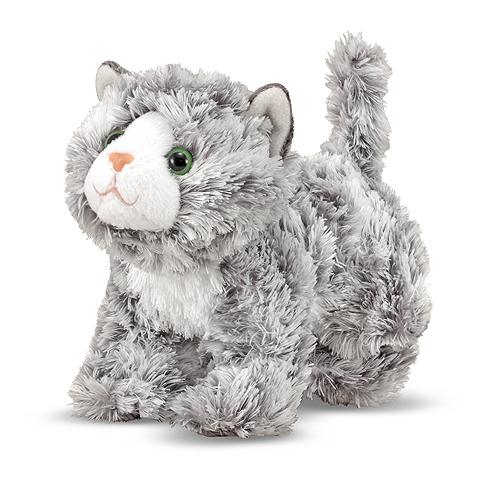 Мраморный котенок Рокси, 18 см