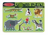 Звуковой пазл Зоопарк
