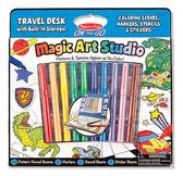 Волшебный набор для мальчиков Раскраска, наклейка, трафарет