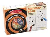 Настольная игра - крутилка-давилка День рождения медведя